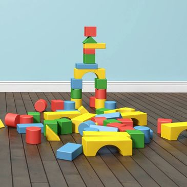 building blocks for toddlers to play with