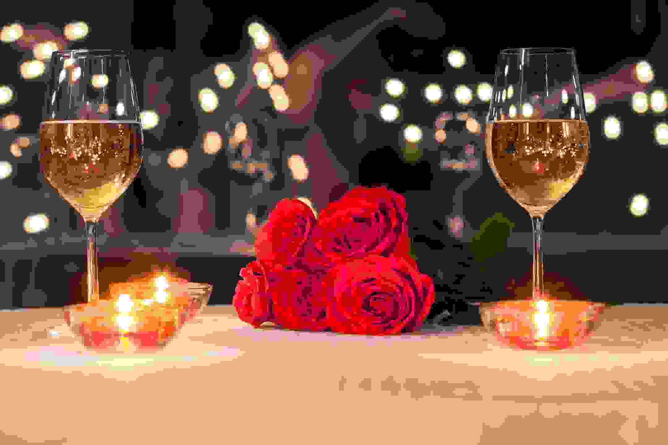 Gift Card, wine,roses, candles, valentines, couples!!