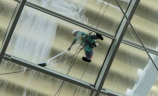 High Rise Cleaning - Window Cleaning - Exterior Cleaning