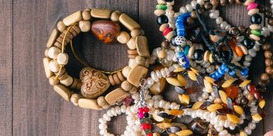 Amulets are made for various reasons. These are made for blessings and or protection
