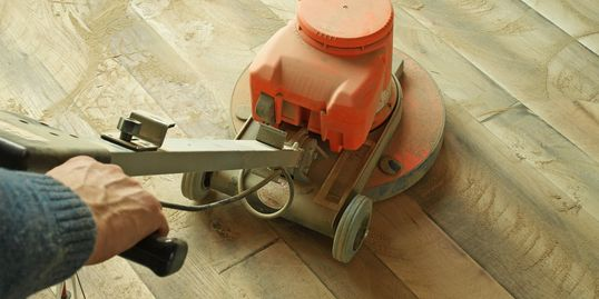Hardwood sanding and refinishing service in Knoxville, TN