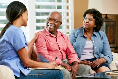Affordable home care with happy clients