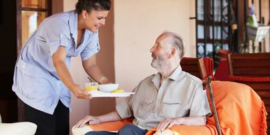 In-home care and support for daily activities.