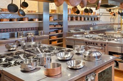 Fancy commercial kitchen