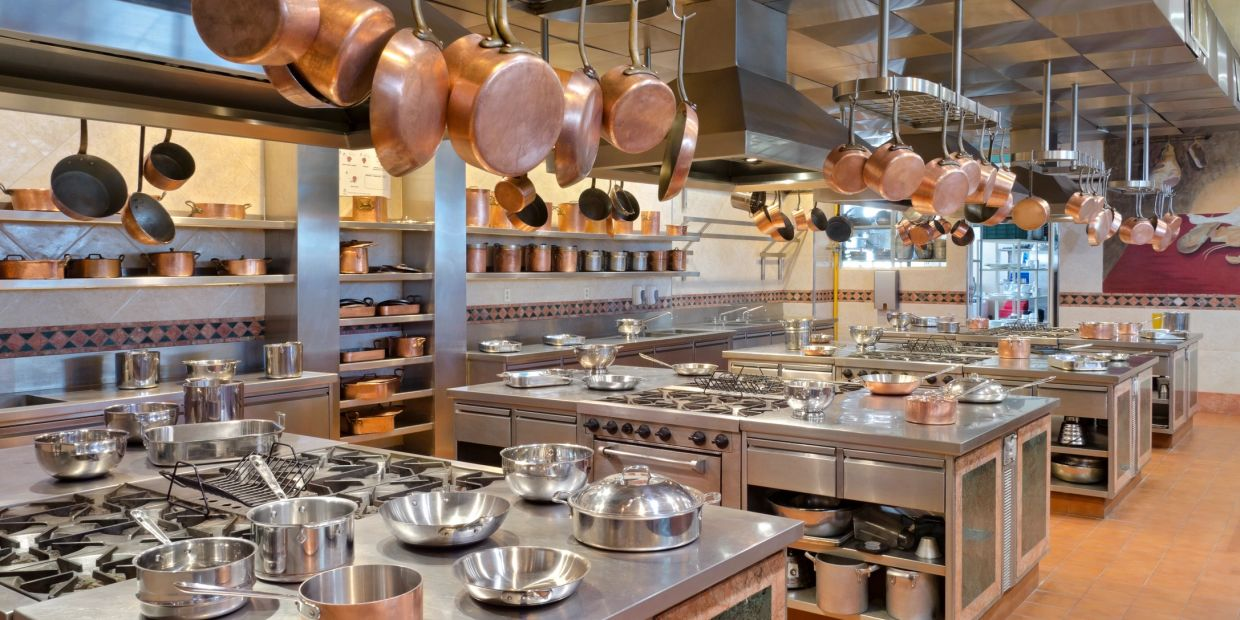 beautiful commercial kitchen