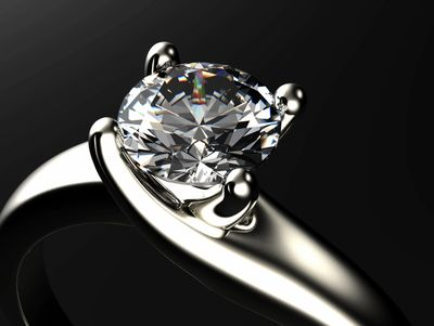 Is your diamond secure in the setting?   We are happy to clean, examine & repair it if necessary.