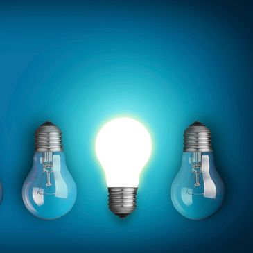 Bright ideas that stand out