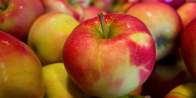 Gorgeous apples, and loads of other amazing PacNW fruit come from our friends at Smallwood Farms'