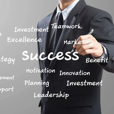 We help you define success and work with you to make it happen.