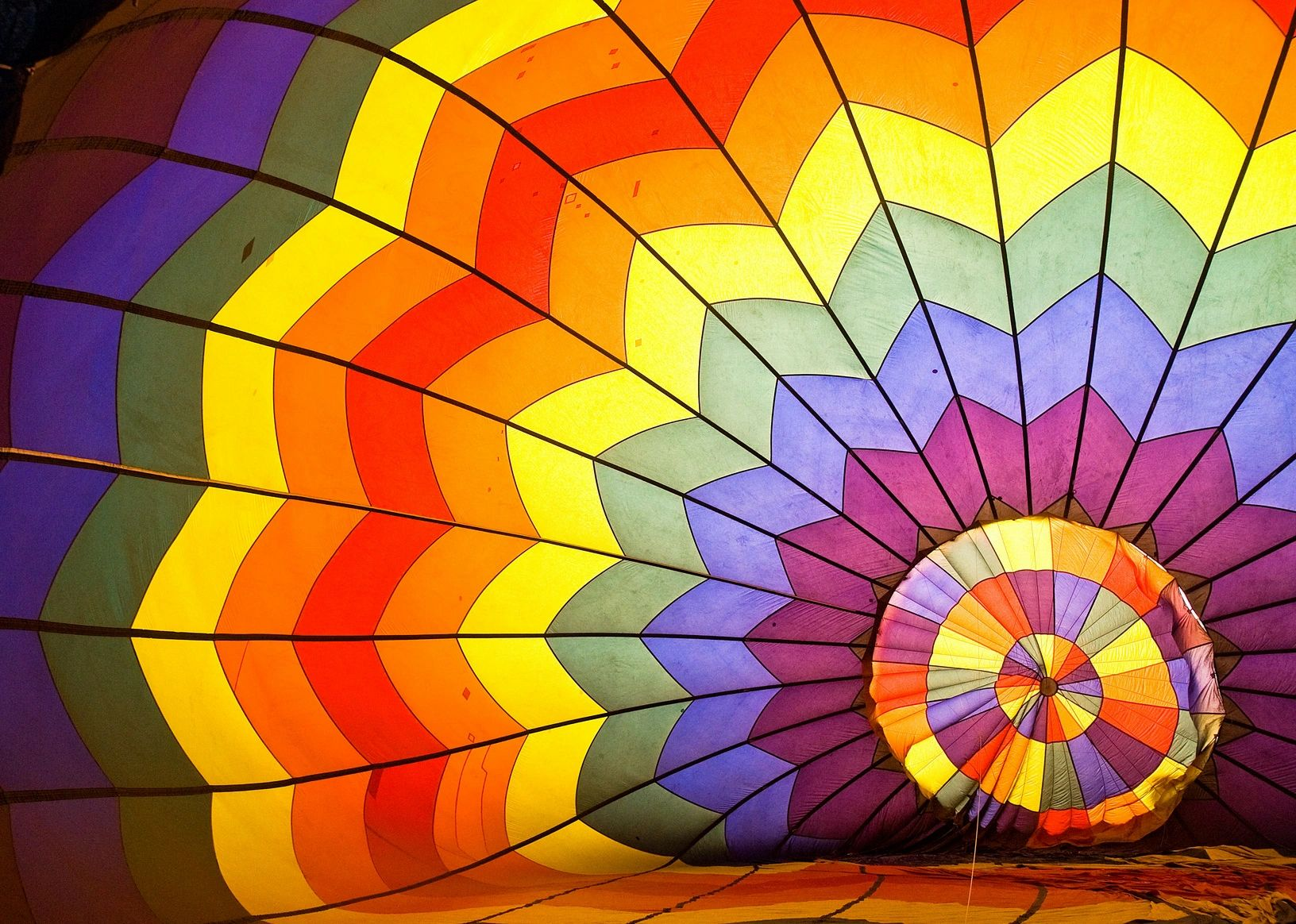 Parachute close up