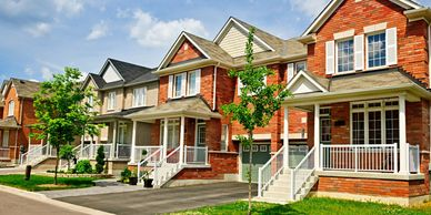 Townhouse inspections are generally as involved as those for single family homes, sometimes more.