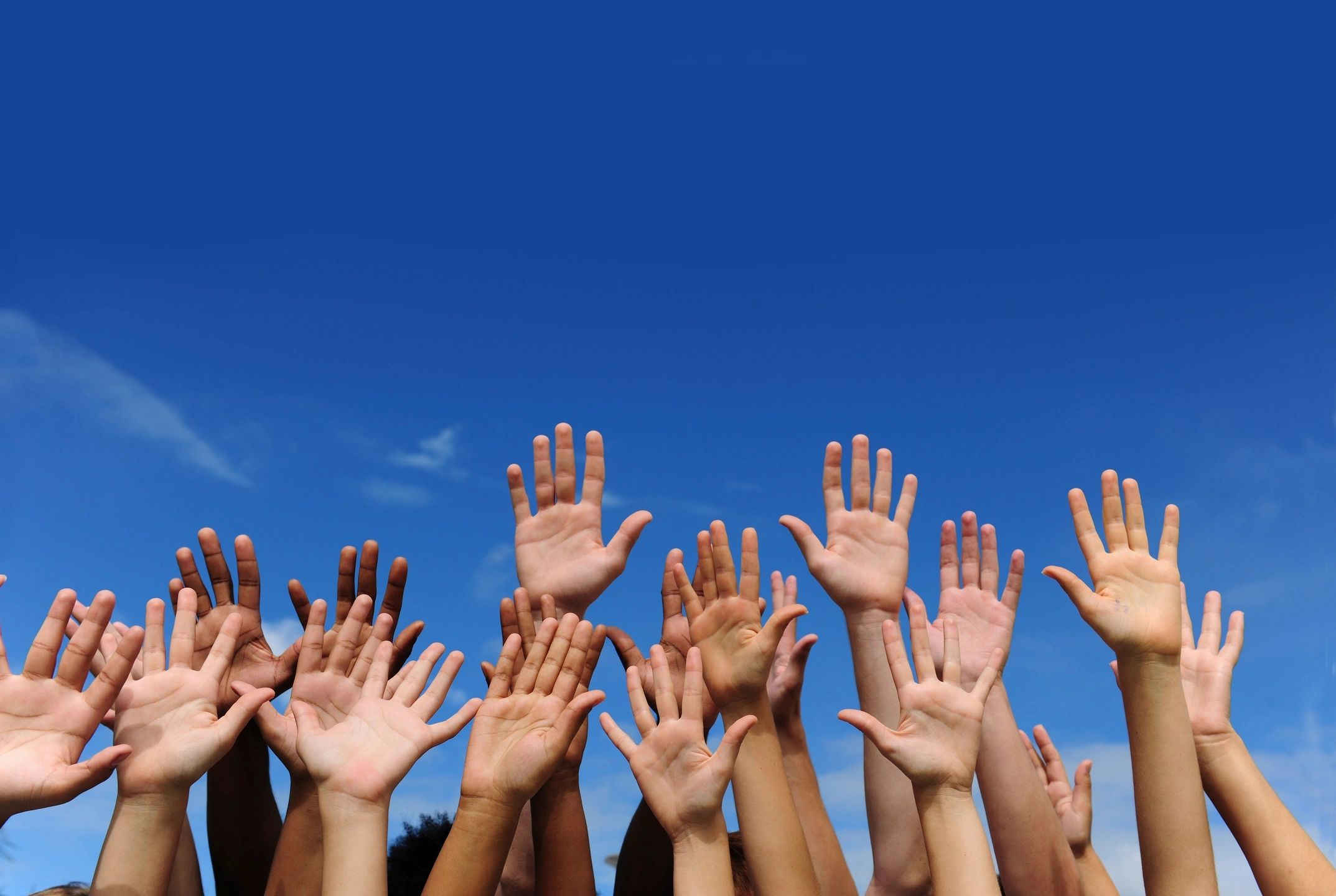 Raise Your Hand To Support Eliminating Racism,  & Promote Equality, Justice, & Human Rights for ALL!
