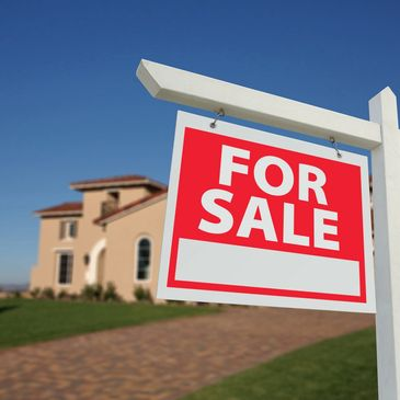 For Sale signs help assist real estate agents promote listings.