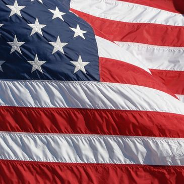 American flag- filtration products Made in the USA