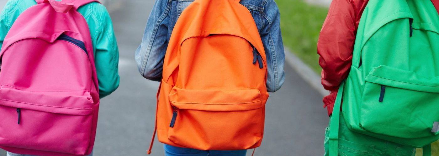Backpacks and gift baskets to foster children