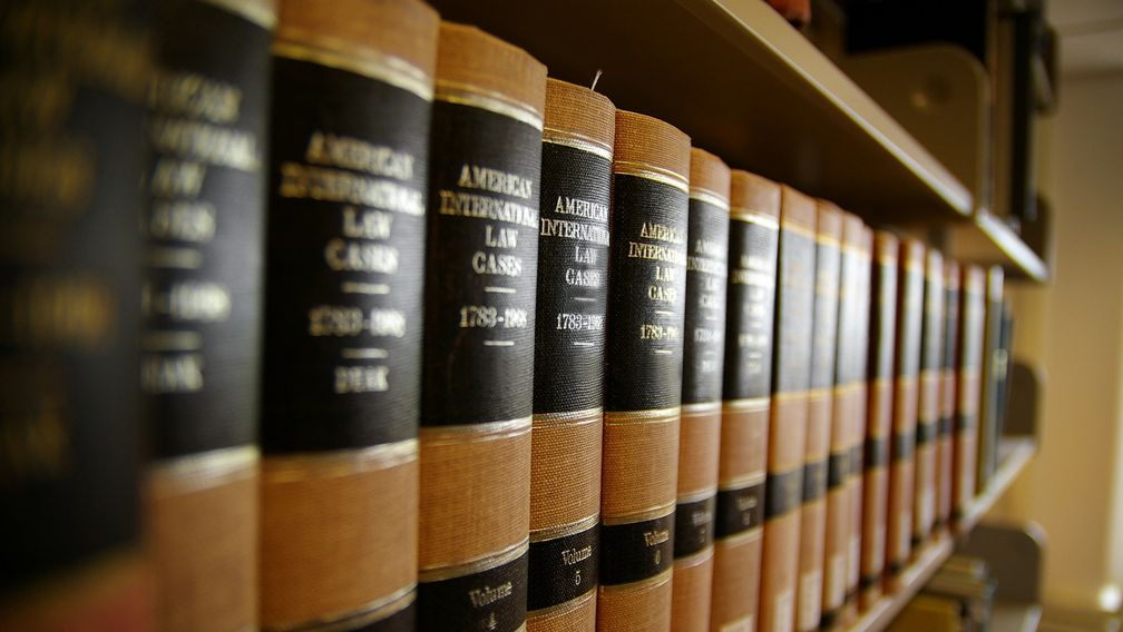 Law books for legal research