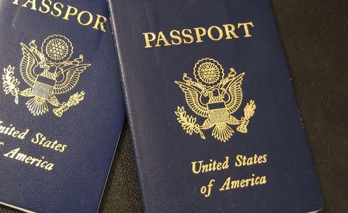 Image of USA Passports.