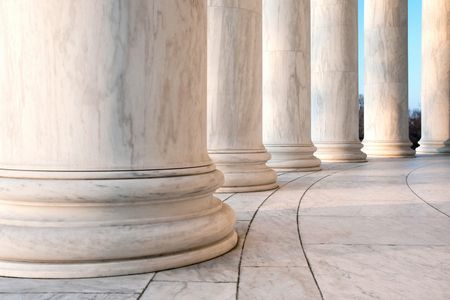 Courthouse columns