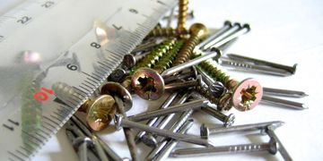 screws, nails