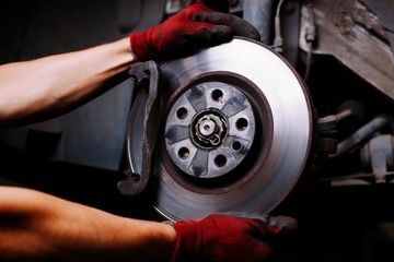 Brake Pad Inspection, Replacement and Service.