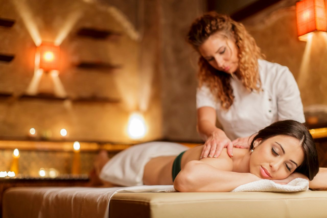 Book a back massage the night before your wedding