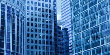 Commercial real estate office towers where you may find business lawyers