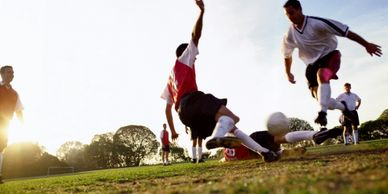 Chiropractic treatment is a natural, drug-free way to heal from sports injuries.
