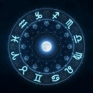 Moon Astrology: If the moon is full, then it is in the opposite sign of the current sun sign.