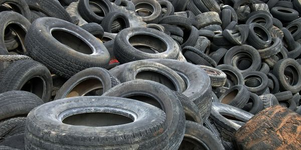 used tire disposal in King William