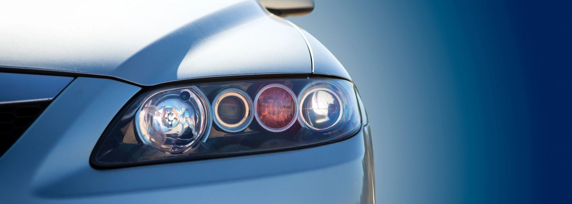 Vehicle headlight. Auto insurance by Insurance Masters NW in Portland, Oregon