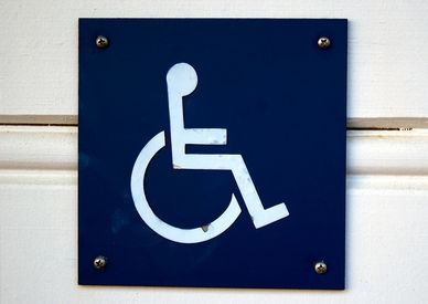 blue badge for disabled people and carers