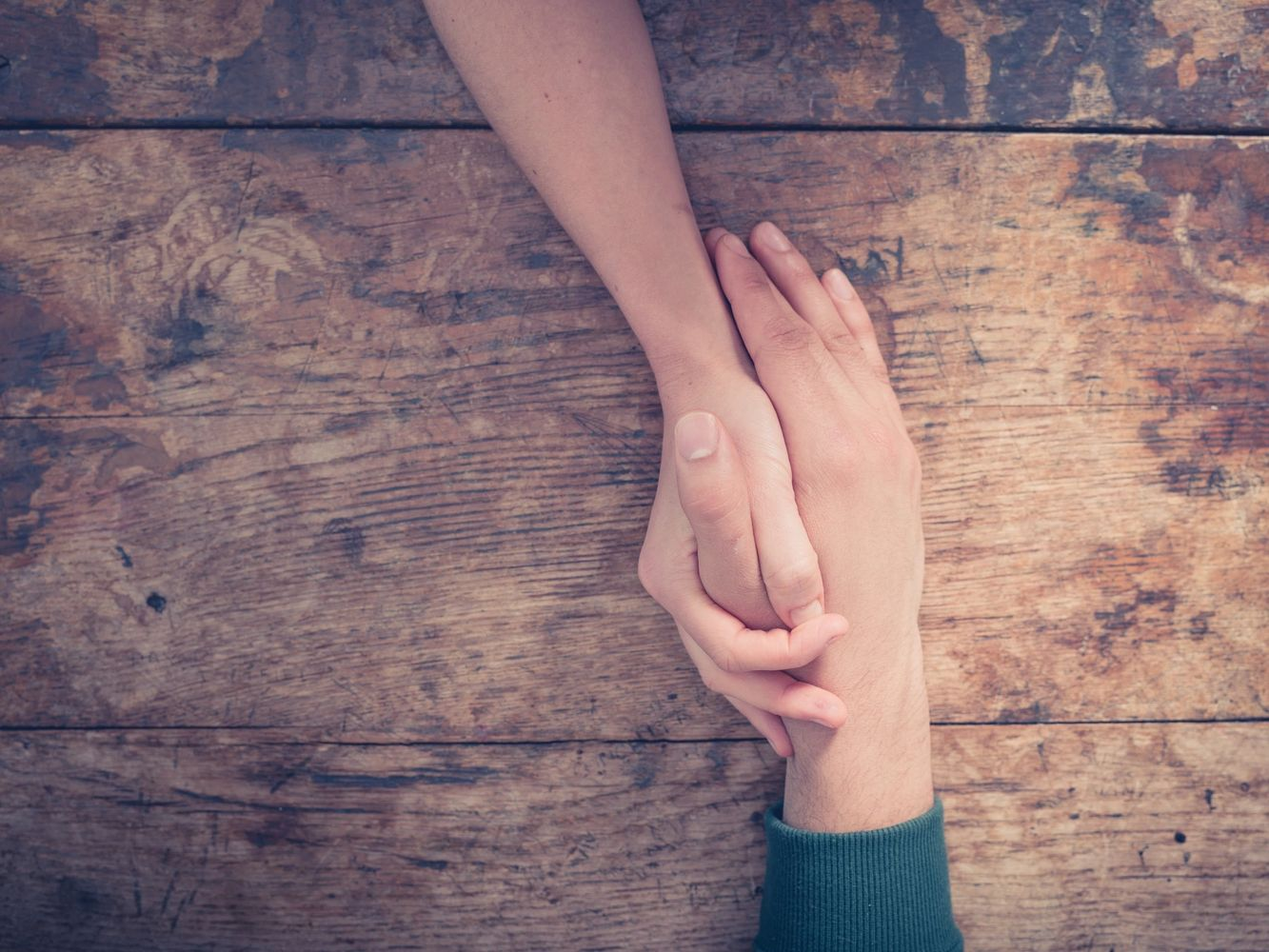 Anxiety & Trauma Clinic of Nova Scotia holding hands picture