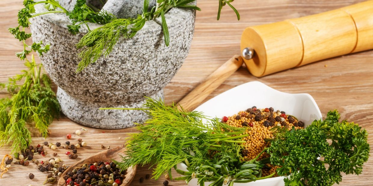 Natural herbs for wellness