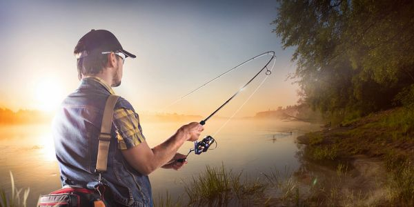 Our fishing calendar lets you know when the fish will be biting!