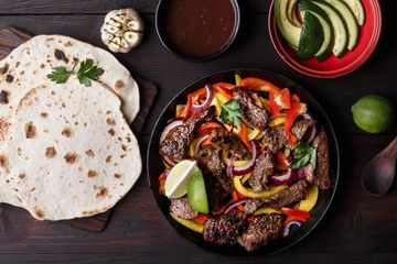 chicken fajita halal