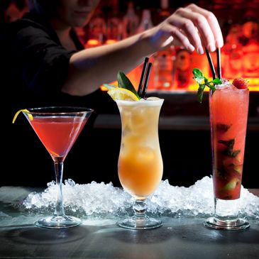 Try our mixed drinks
