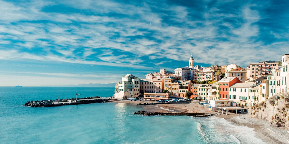 Coast of Italy, Vacation, Gorgeous blue water