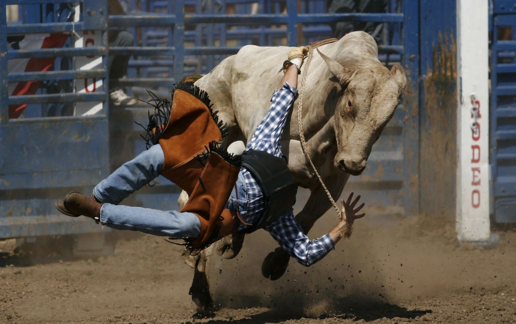 Wild Wild West Pro Rodeo Coming to South Bend, IN  Oct 11th & 12th!