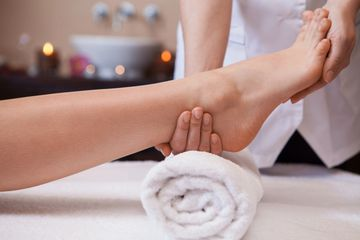 Reflexology, Foot massage, achy feet, tired feet,