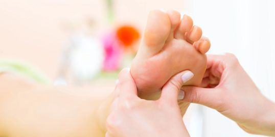 Bloom into wellness with reflexology