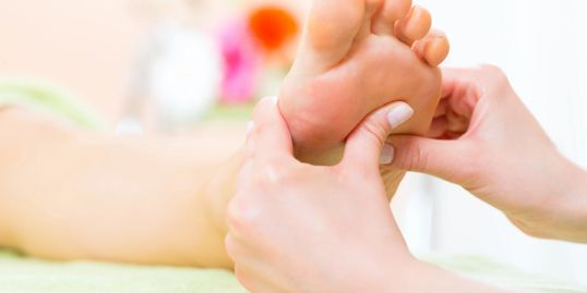 Express 30 minute Reflexology appointments for hands, feet, or scalp available.