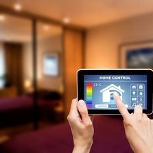 Image showing smart controls for smart technologies within a residential or commercial property