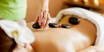 Hot Stone Massage in Burlington