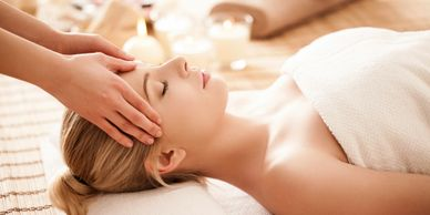 Relaxation Massage therapeutic massage pampering massage head massage