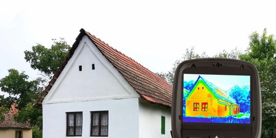 Thermal imaging identifies heat and cooling loss