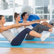 Pilates Class in auburn ca, 1 lifestyle fitness gym, group class