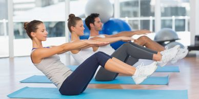 work perks pilates corporate wellness stretch executives