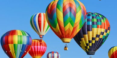 hot air balloons, LTA, Lighter than air, education, science, flight, history, Albuquerque, Fiesta, p