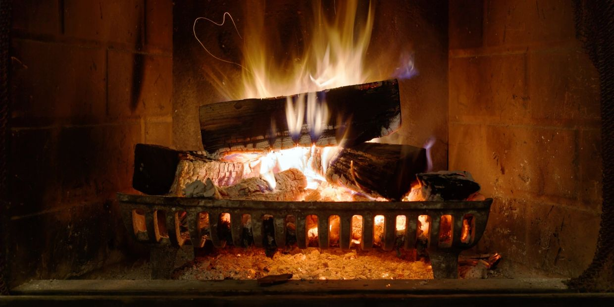 fire prevention word burning tips illustrated by a clean safe wood burning fireplace