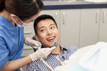 Dental Health Insurance Patient